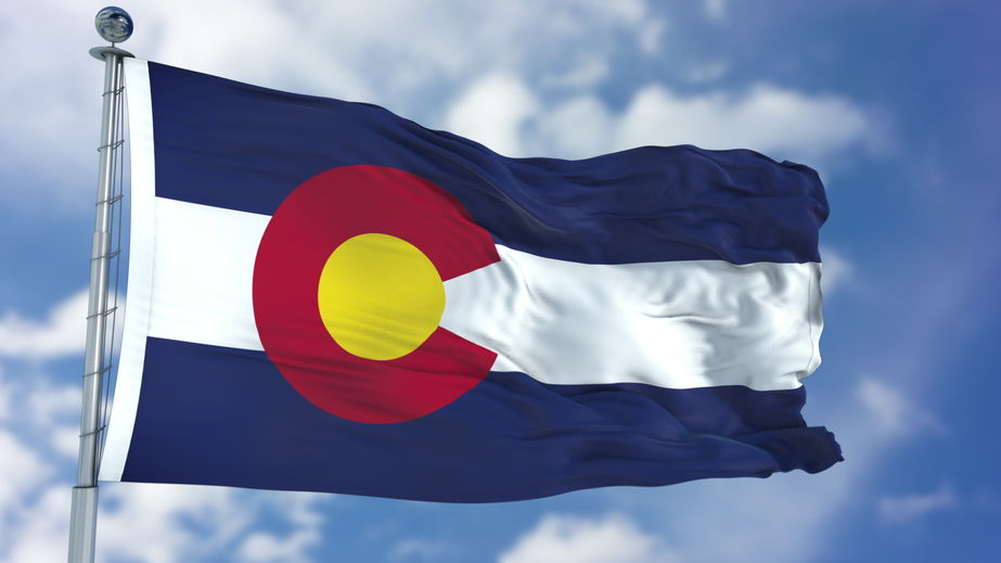 image of Colorado flag