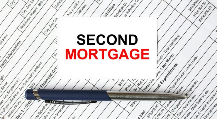 second mortgage lien image